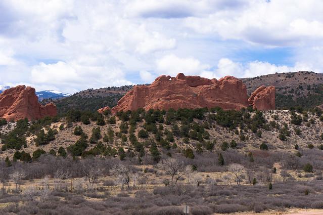 Garden Of The Gods Near Colorado Springs Garden Of The