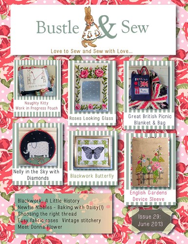 Bustle & Sew Magazine June 2013