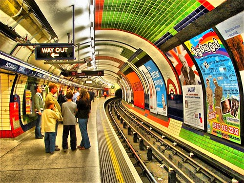 Tube Station - Piccadilly Circus Watch
