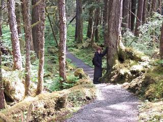 Alaska May 2013 444 Gaye on Trail