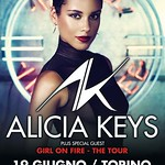 Locandina Alicia Keys Palaolimpico Torino 2013-470x600