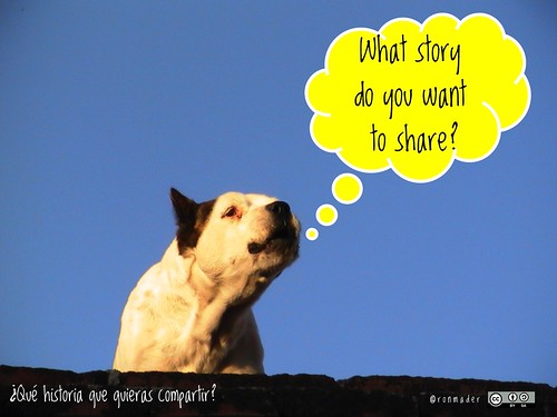 What story do you want to share? = ¿Qué historia que quieras compartir? #roofdog