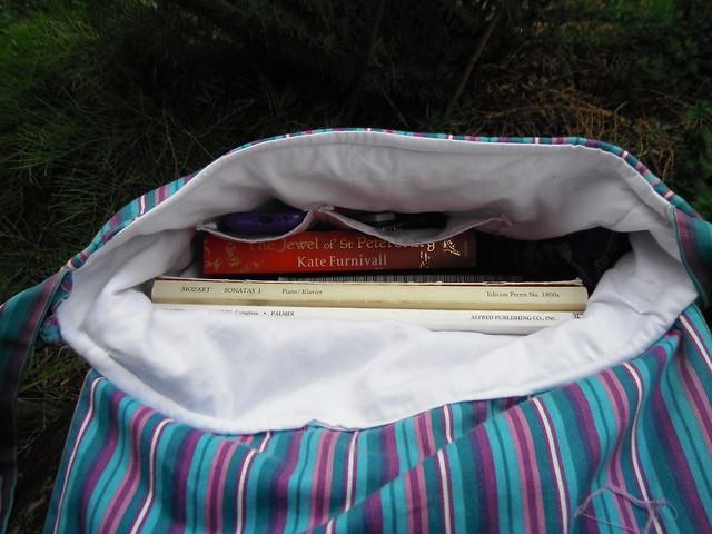 Messenger Bag Inside
