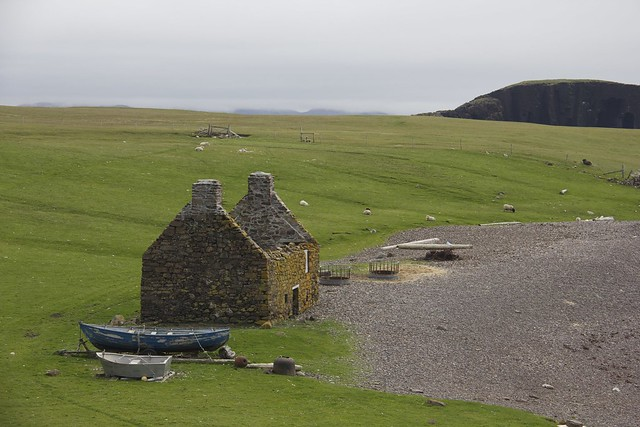 Old Shetland Home