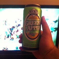 Nickel Brook's Green Apple Pilsner and #Roughriders football. Crisp & tasty #beer #beerporn