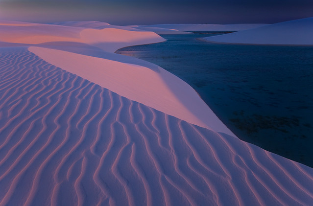 Pink Sands by Michael Anderson