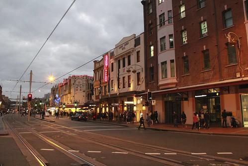 Sydney Chinatown 悉尼 唐人街 街景
