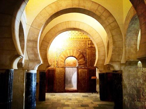 Interior árabe del castillo de San Marcos (El Puerto de Santa María)
