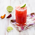 Fresh Plum Margaritas