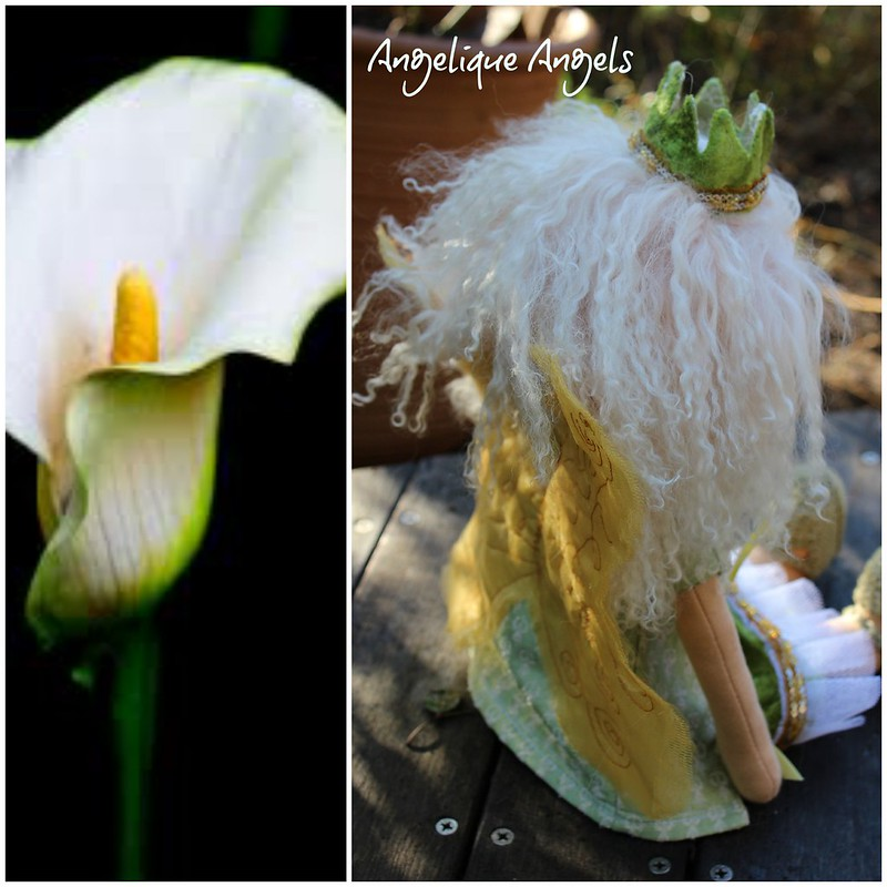 The Arum Lily Fairy by Angelique Angels