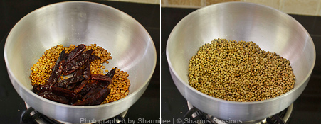 Rasam Powder Recipe - Step1