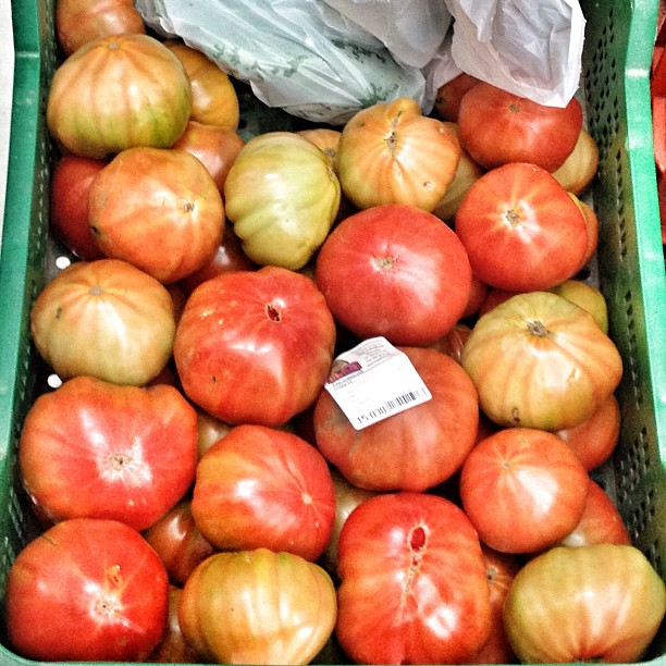 Tomates del terreno #tomatesplasticoNO #almuñécar #granada