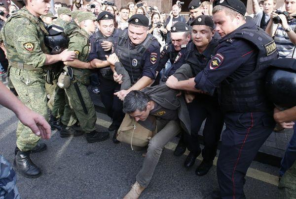 Манежная приговор Навальный