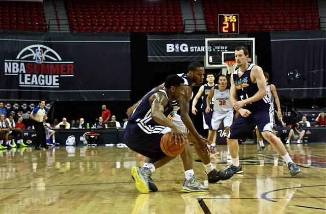 Defense - Wizards vs Grizzlies - 2013 NBA Summer League