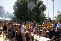 Sverige-match på storbilds-tv