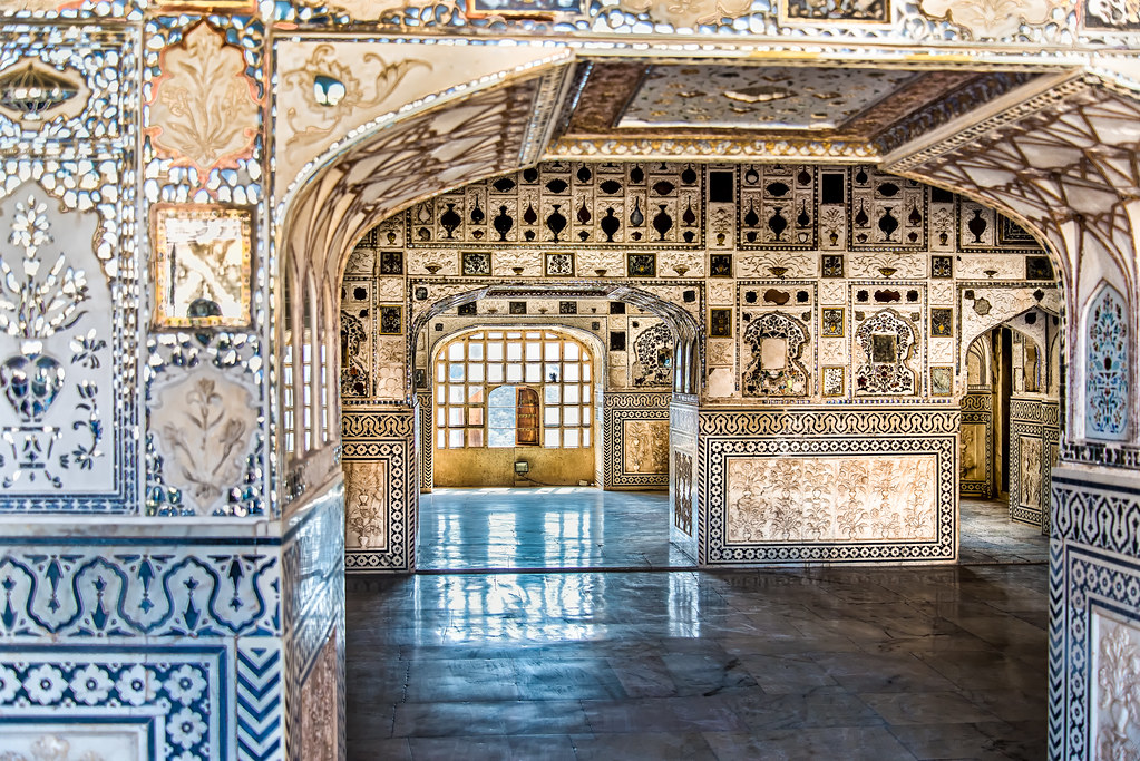 Amber Fort Sheesh Mahal Glass Palace Also Known As