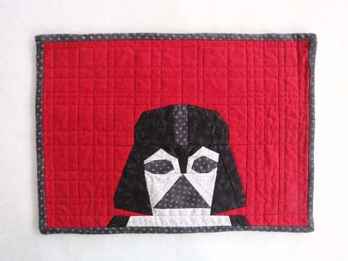 QUILTED PLACEMAT - Darth Vader