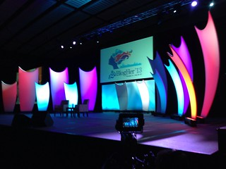 BlogHer'13 Stage