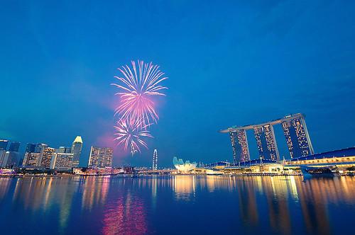Singapore Fireworks NDP 2013 by Haryadi Be