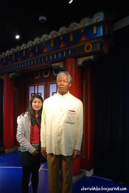Nelson Mandela & cherieladie