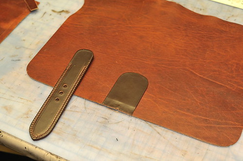Mitchell Compact Briefcase: Buckle Step 3