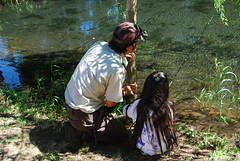 Patience is a huge part of fishing.  Just wait for it.....and surprise!  a four pound rainbow trout will just appear on the end of the hook.