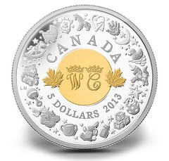 Canada 2013 George 5 dollars