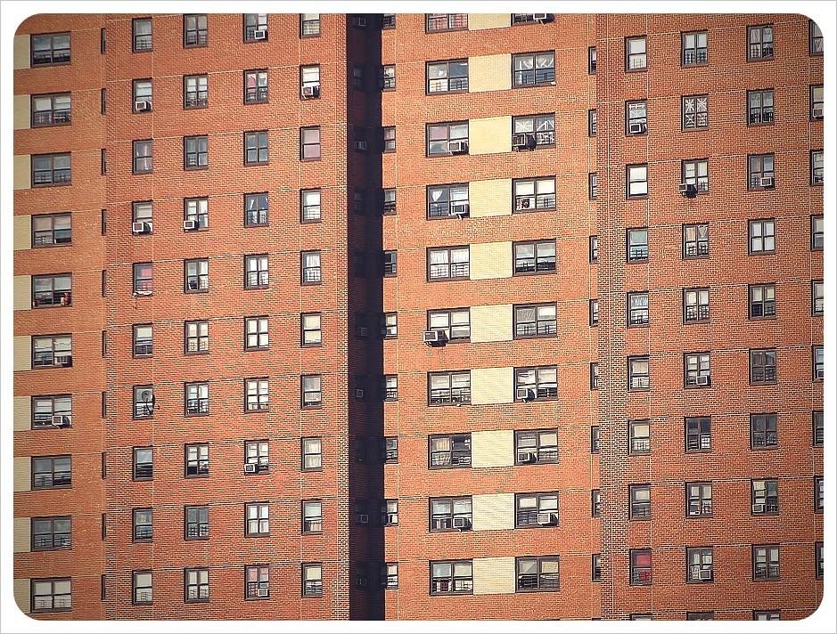 new york harlem apartment block