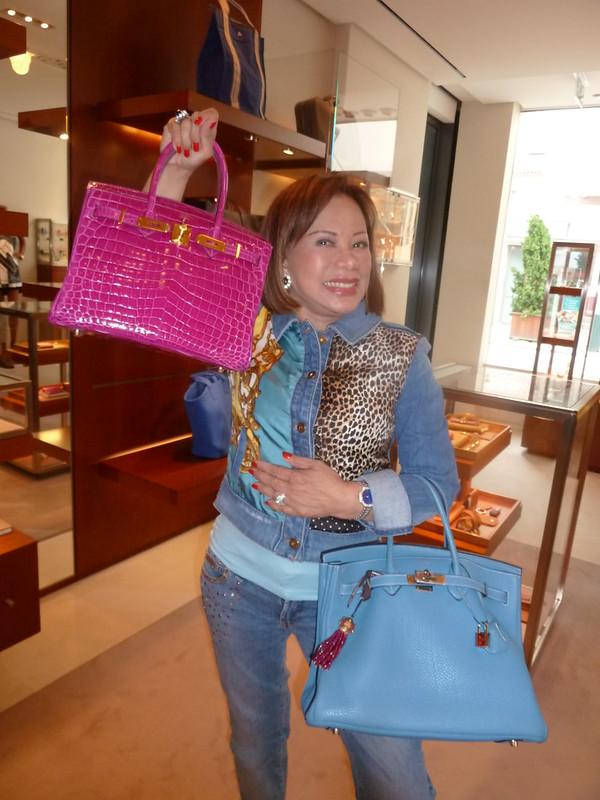 Kee Hua Chee Live!: PRINCESS DR BECKY LEOGARDO BUYS 17TH HERMES ...