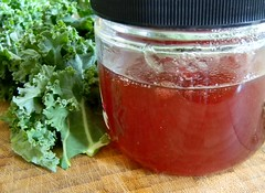 Hot Pepper Pomegranate Jelly