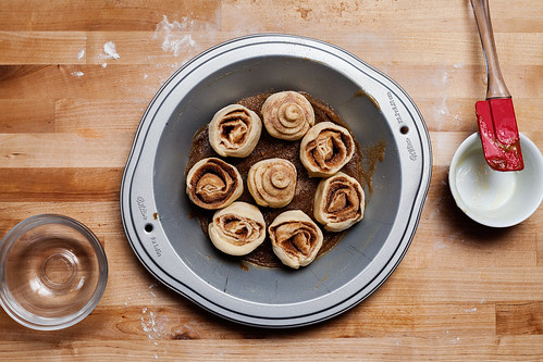 Pillsbury Crescent Roll Cinnamon Rolls - Pre-baking