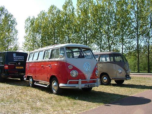AE-92-59 Volkswagen Transporter Samba 21raams 1965