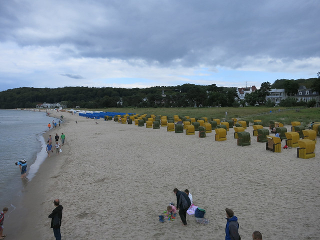 German beach chairs