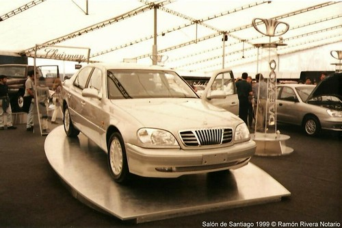 Daewoo Chairman - 1999 Salón del Automóvil de Santiago