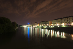 River Po in Turin Italy