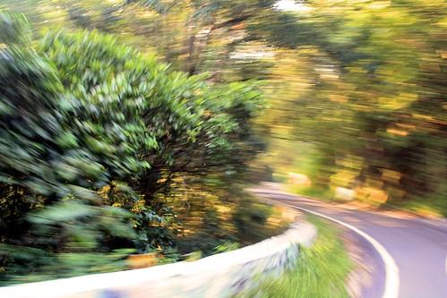road india moving blurred tamilnadu dindigul ind