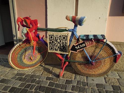 毛糸の自転車