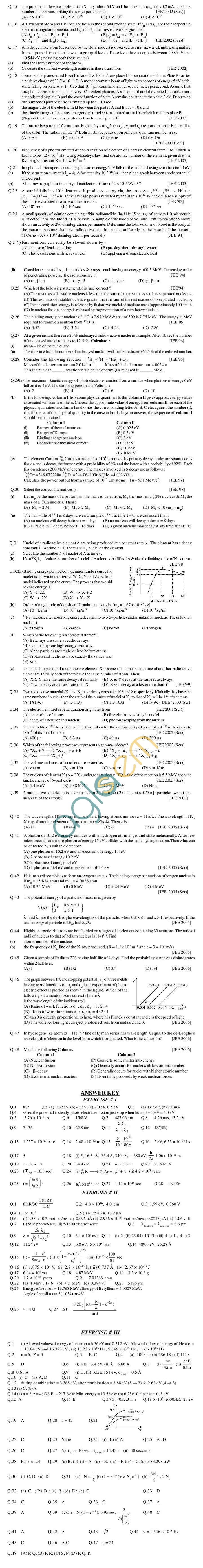 Physics Study Material - Modern Physics