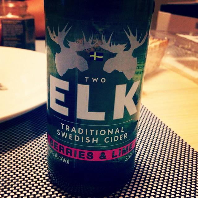 Elk cider