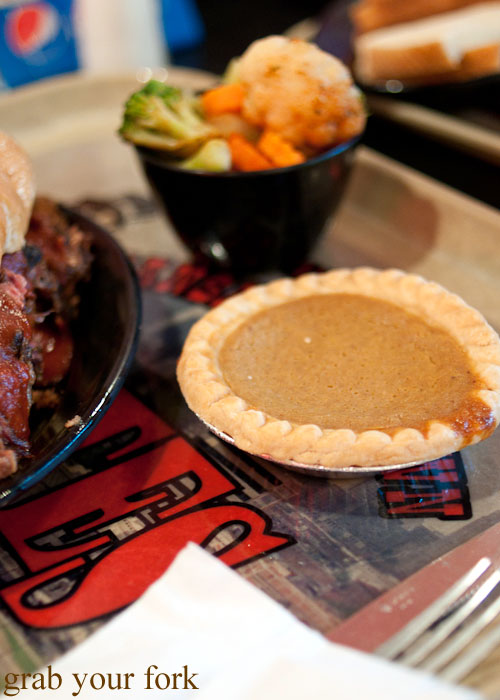 yammer pie dessert yam sweet potato Gates BBQ barbecue Kansas City Missouri
