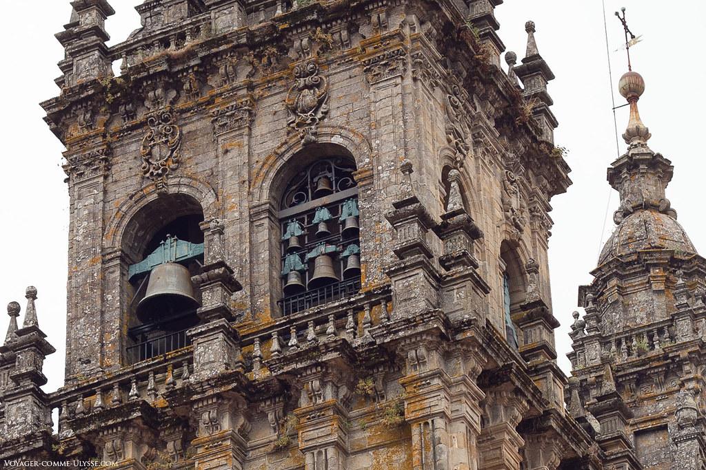 Photo des cloches de Saint-Jacques de Compostelles