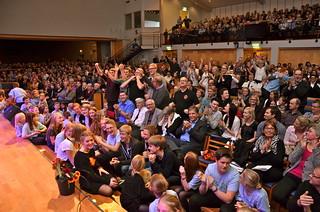 Brassbandfestivalen 2013 - Jubel i publiken! (Foto: Olof Forsberg)