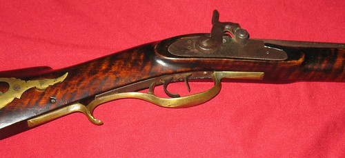American Longrifle - Made By Henry Tope, Magnolia, Illinois - 1840's