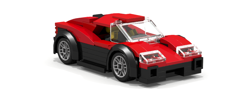 LDD MOCs] imvanya's sports cars - LEGO Town - Eurobricks Forums