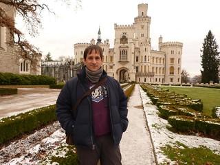 En el castillo de Hluboká