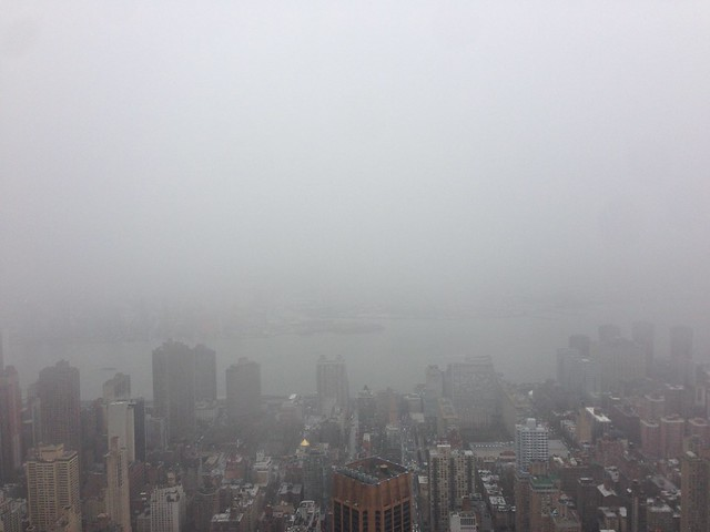 Great view from the top of the Empire State Building