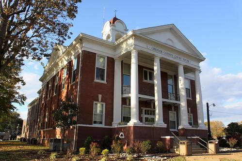 tn tennessee courthouse henderson chestercounty countycourthouse bmok bmok2