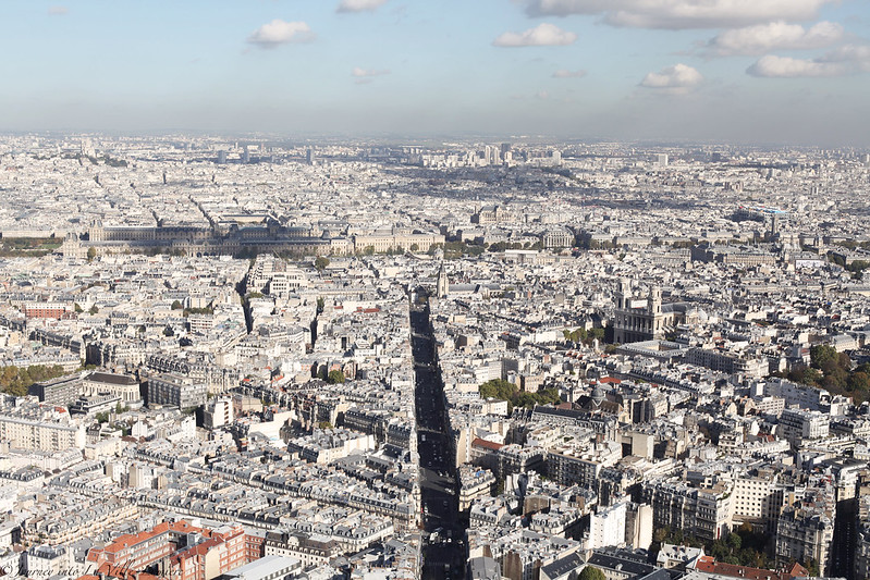 Views of Paris form Montparnasse Tower