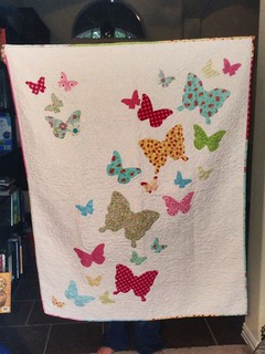 Butterfly quilt for my sweet Boo 09-2012