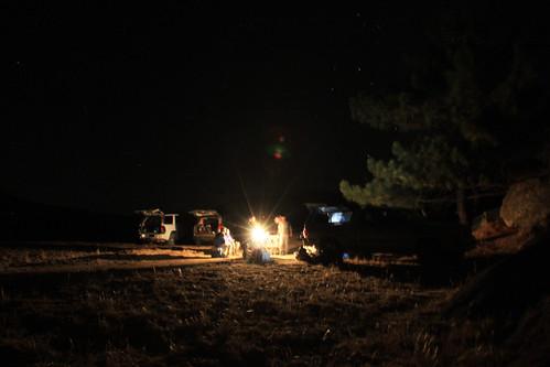 Night at Pine Corral
